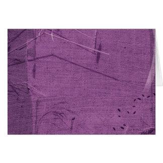 Purple grunge fabric background type design greeting cards