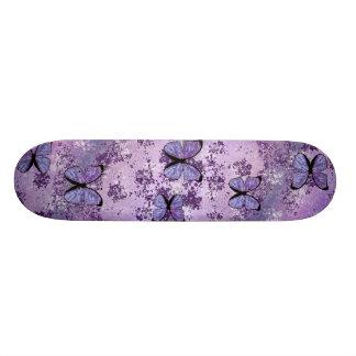 Purple Grunge Skateboard