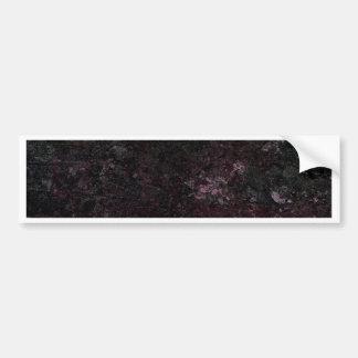 Purple Grunge Texture Bumper Sticker
