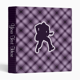 Purple Guitarist Binder