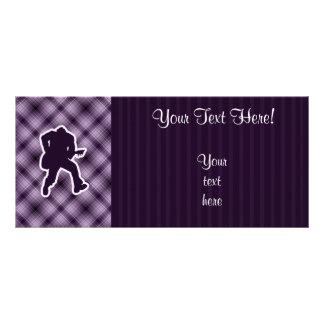 Purple Guitarist Rack Card Template