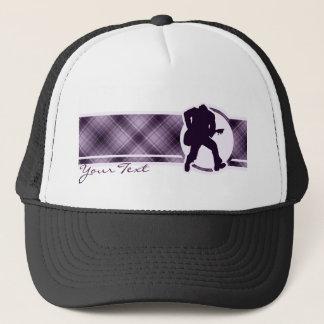 Purple Guitarist Trucker Hat
