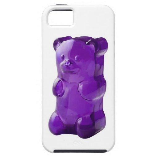 Purple gummy bear iphone case iPhone 5 cases : Zazzle