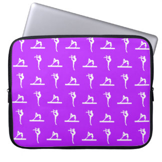 Purple Gymnastics Laptop Sleeve