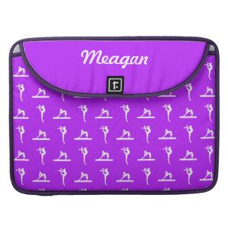 Purple Gymnastics MacBook Pro Sleeve