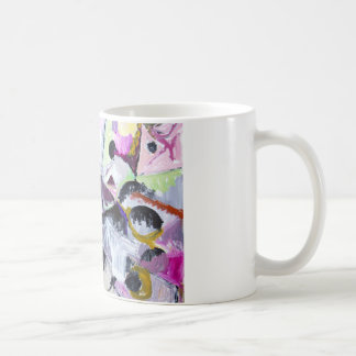 Purple Habitat of Native Wildcats (painting) Coffee Mug