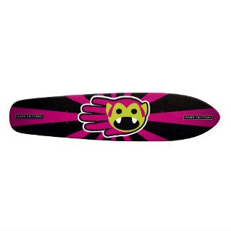 Purple Hair Vampire Skate Deck