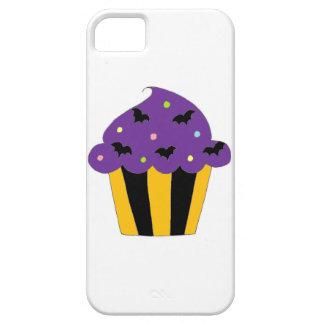 Purple Halloween Bats Cupcake iPhone SE/5/5s Case