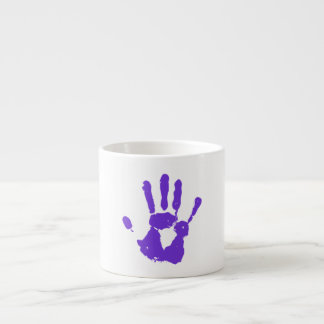 Purple Hand LGBT Gay Rights Symbol Espresso Cup