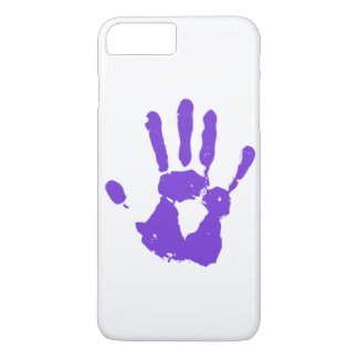Purple Hand LGBT Gay Rights Symbol iPhone 7 Plus Case