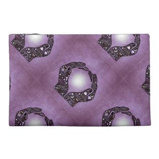 Purple Hands Word Art Bag