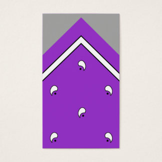 Purple Hanky Trick Card /