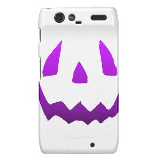 Purple Happy Halloween Droid RAZR Case