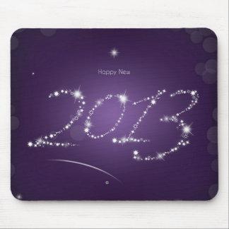 Purple Happy new 2013 Mousepad
