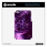 Purple Haven Skins For iPod Touch 4G