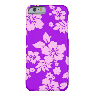 Purple Hawaiian Barely There iPhone 6 Case