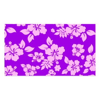 Purple Hawaiian Business Card