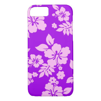 Purple Hawaiian iPhone 7 Case