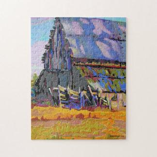 Purple Hays Jigsaw Puzzle