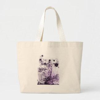 Purple haze garden tote tote bags