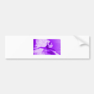 Purple Haze Girl Bumper Sticker