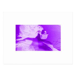 Purple Haze Girl Post Card
