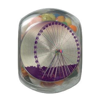 Purple Haze Glass Jar