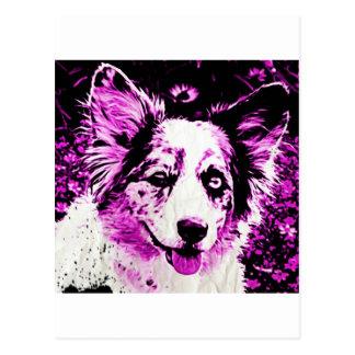 Purple Haze Maggie Postcard