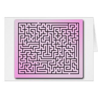 Purple  Haze Maze Card
