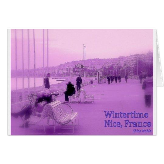 Purple Haze - Nice France Card