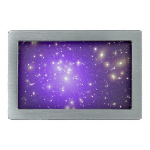 Purple haze of stars belt buckles