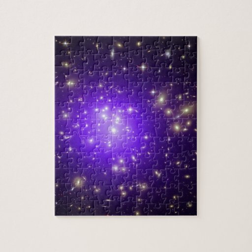 Purple haze of stars jigsaw puzzles