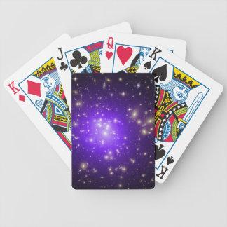 Purple haze of stars deck of cards