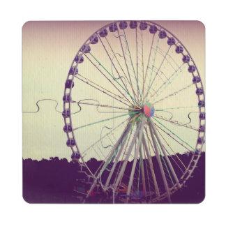 Purple Haze Puzzle Coaster