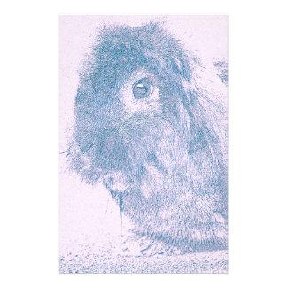 Purple haze rabbit customised stationery
