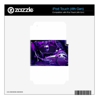 Purple Haze Decal For iPod Touch 4G