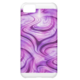 Purple Haze Squiggles Cover For iPhone 5C