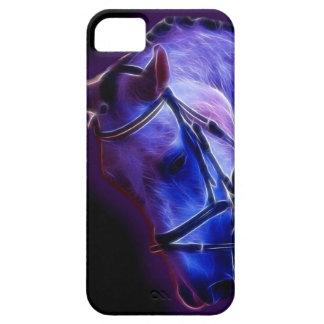 Purple Hazed horse iPhone SE/5/5s Case