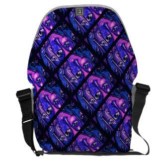 Purple Head Bag
