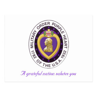 Purple Heart consigue la postal bien