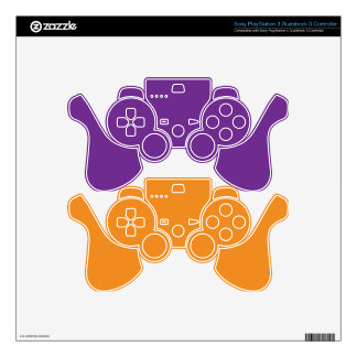 Purple Heart Decal For PS3 Controller