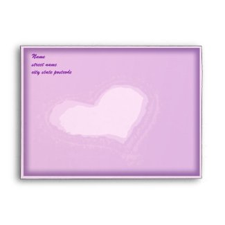 Purple Heart Envelope envelope