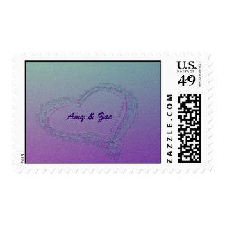 Purple Heart Estampilla