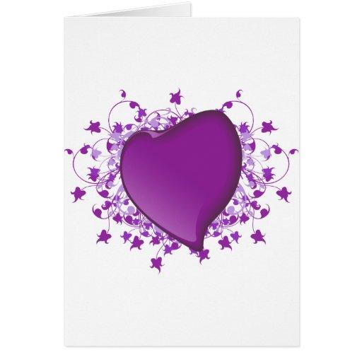 Purple Heart Felicitacion
