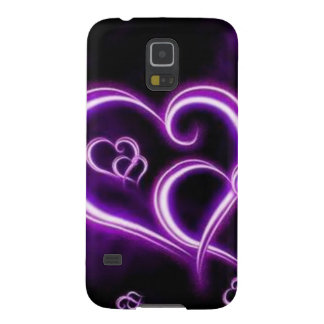 Purple Heart Fundas Para Galaxy S5
