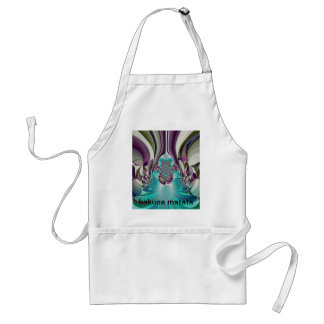 Purple Heart graphical  floral Customize Product Adult Apron
