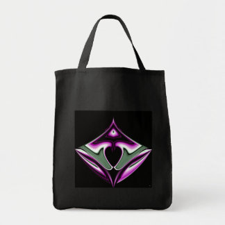 Purple Heart Grocery Bag