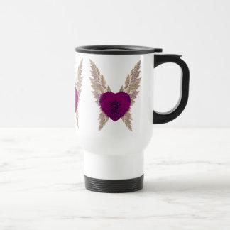 Purple Heart Junket Jug Travel Mug
