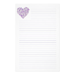 Lined Stationery Paper Fair Lined Writing Stationery  Zazzle