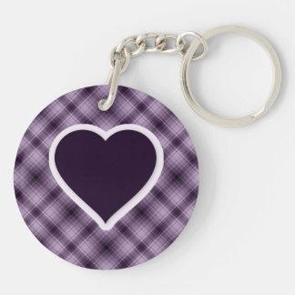 Purple Heart Llavero